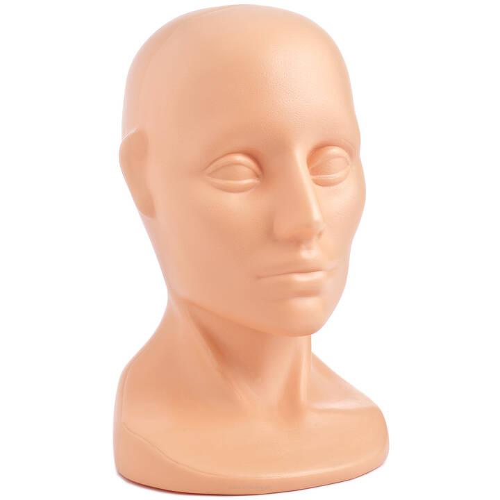 7921f835d2a2b6 Ekspozytor głowa na czapki (cielisty) - Best-line