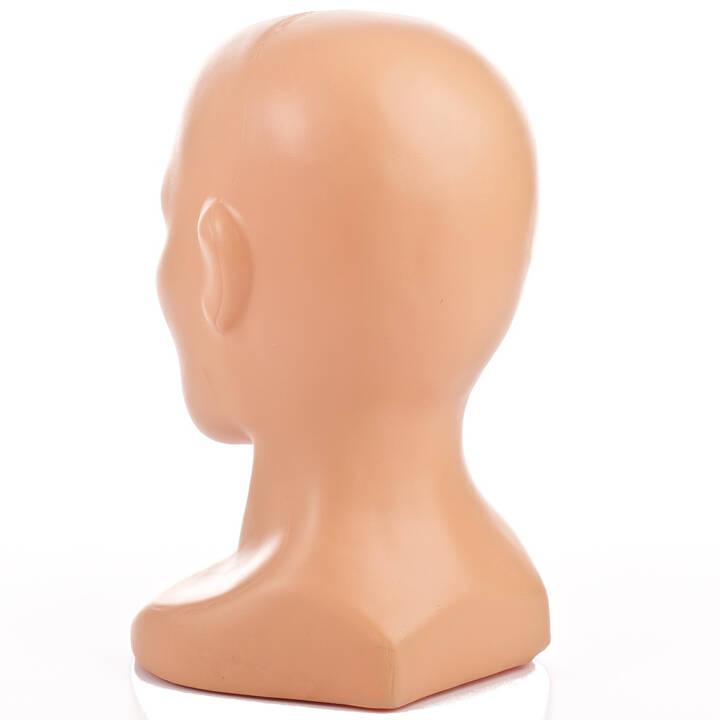 9a2696d03e0121 Produkt: Manekin ekspozytor na czapki. Wymiary: Obwód głowy 50cm. Materiał:  Tworzywo sztuczne. Kolor: Cielisty