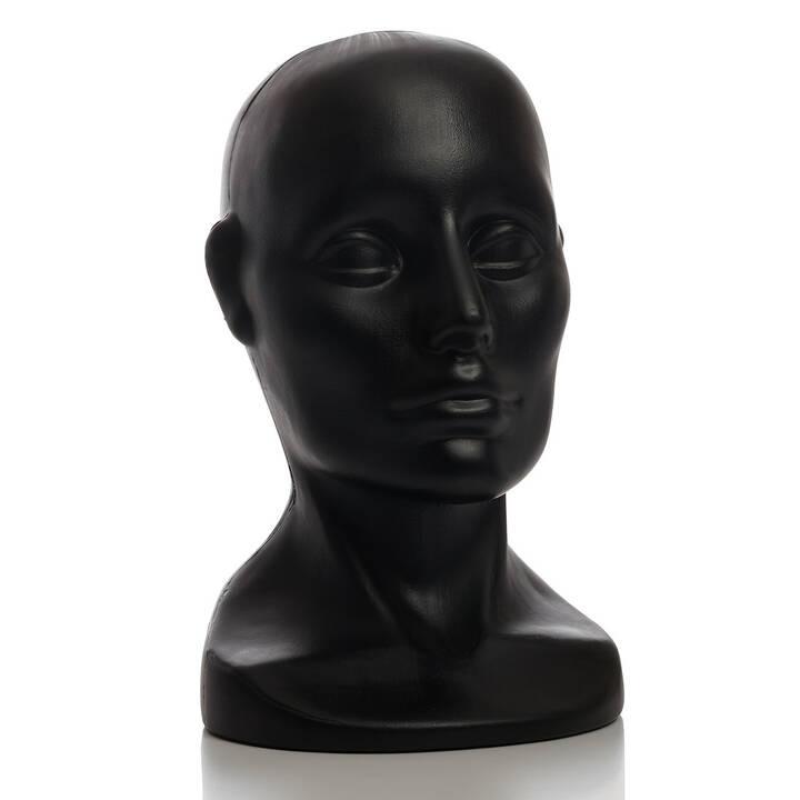 5d27a365ab94e8 Ekspozytor głowa na czapki (czarny) - Best-line